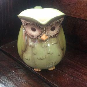 Grasslands road owl mug pitcher